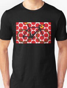 Bike Red Polka Dot (Big - Highlight) T-Shirt