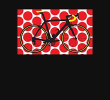 Bike Red Polka Dot (Big - Highlight) Unisex T-Shirt