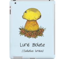 Lurid Bolete (without cartoon face) iPad Case/Skin