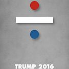 red, white and blue - TRUMP 2016 by Alex Preiss