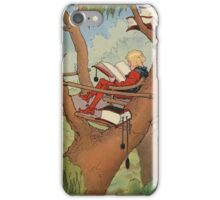 John R. Neill - Prince Inga In His  Tree-Top  Rest. Man portrait: strong man, boy, male, beard, business suite, masculine, boyfriend, smile, manly, sexy men, mustache iPhone Case/Skin