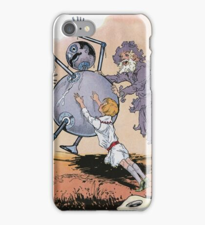 John R. Neill - Putting Tik Tok Back On His Feet.. Child portrait: cute baby, kid, children, pretty angel, child, kids, lovely family, boys and girls, boy and girl, mom mum mammy mam, childhood iPhone Case/Skin