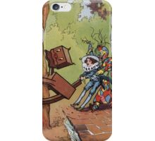 John R. Neill - The Patchwork Girl Helps The Boy. Child portrait: cute baby, kid, children, pretty angel, child, kids, lovely family, boys and girls, boy and girl, mom mum mammy mam, childhood iPhone Case/Skin