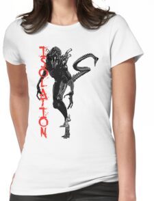 """NEW* ALIEN: ISOLATION MERCHANDISE... """"ISOLATION"""" Womens Fitted T-Shirt"""