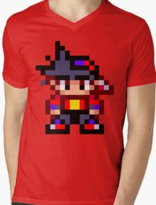 Pixel Beyblade Tyson Mens V-Neck T-Shirt