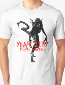 "NEW* ALIEN: ISOLATION MERCHANDISE... ""YEAR 2137 NEVER FORGET"" Unisex T-Shirt"