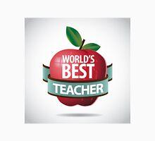 World's Best teacher apple icon Unisex T-Shirt