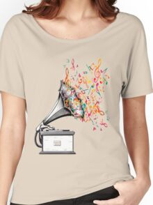Music for my ears retro style Women's Relaxed Fit T-Shirt