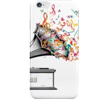 Music for my ears retro style iPhone Case/Skin