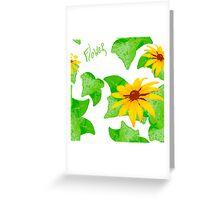 Juicy natural pattern Greeting Card