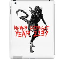 "NEW* ALIEN: ISOLATION MERCHANDISE... ""YEAR 2137 NEVER FORGET"" iPad Case/Skin"
