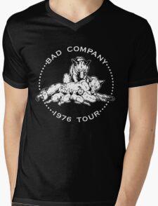Bad Company Vintage Tour Mens V-Neck T-Shirt