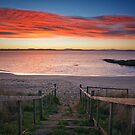 Roches Beach Sunrise #6 by Chris Cobern