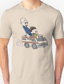 Breaking Bad Calvin And Hobbes Unisex T-Shirt