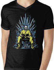 Breaking Bad Game of Thrones Mens V-Neck T-Shirt