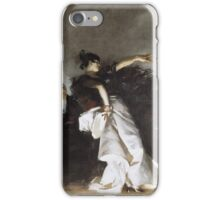 John Singer Sargent - El Jaleo1882. Dancer painting: dance, ballet, dancing woman, ballerina, tutu, femine, women, dancer, disco, dancers, girls iPhone Case/Skin