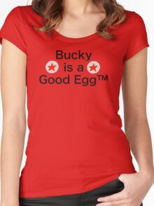 Bucky is a Good Egg Women's Fitted Scoop T-Shirt