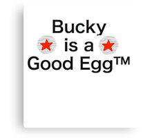 Bucky is a Good Egg Canvas Print