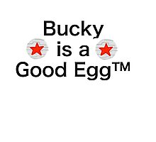 Bucky is a Good Egg Photographic Print