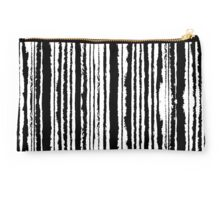 Vertical Brush Stripe Studio Pouch