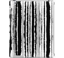 Vertical Brush Stripe iPad Case/Skin