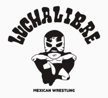 mexican wrestling lucha libre12 Baby Tee