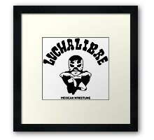 mexican wrestling lucha libre12 Framed Print