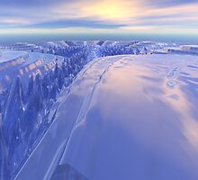 Ice Fissure by Phil Perkins