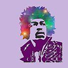 Jimi Hendrix by macaulay830