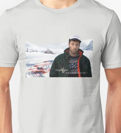 "Torgeir Lien ""Small town boy"" Unisex T-Shirt"