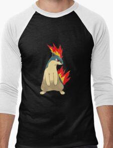 Quilava Men's Baseball ¾ T-Shirt