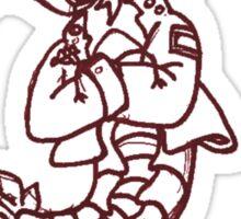 single serving of gang shrimp Sticker