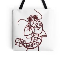 single serving of gang shrimp Tote Bag