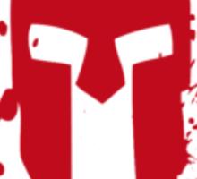 SPARTAN-SHIRT-CHEST-RED Sticker