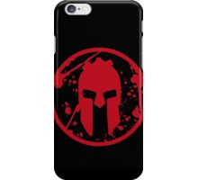 SPARTAN-SHIRT-CHEST-RED iPhone Case/Skin