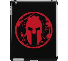 SPARTAN-SHIRT-CHEST-RED iPad Case/Skin