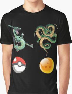 Rayquaza    vs      shenron Graphic T-Shirt