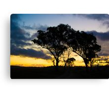 Uralla Sunset Canvas Print