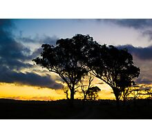 Uralla Sunset Photographic Print