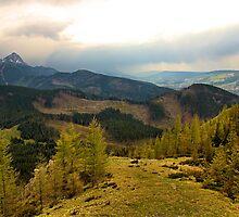 mountain landscape by Grazyna W.