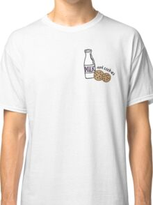 Milk and Cookies illustration Classic T-Shirt
