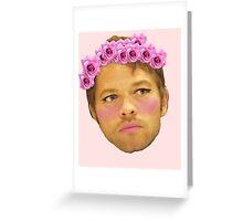 Misha Slay Me Greeting Card