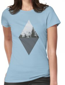 In The Trees Womens Fitted T-Shirt