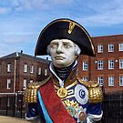 Statue of Admiral Horatio Lord Nelson by Stephen Frost