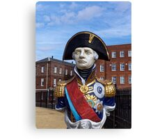 Statue of Admiral Horatio Lord Nelson Canvas Print