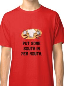 BBQ South In Mouth Classic T-Shirt
