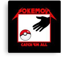 Pokémon - Catch 'em all Canvas Print
