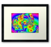 Rainbow Woman Framed Print