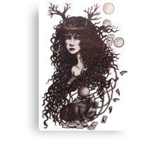 Gypsy Moon  Canvas Print