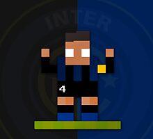 Inter - Javier Zanetti by pixsoccer